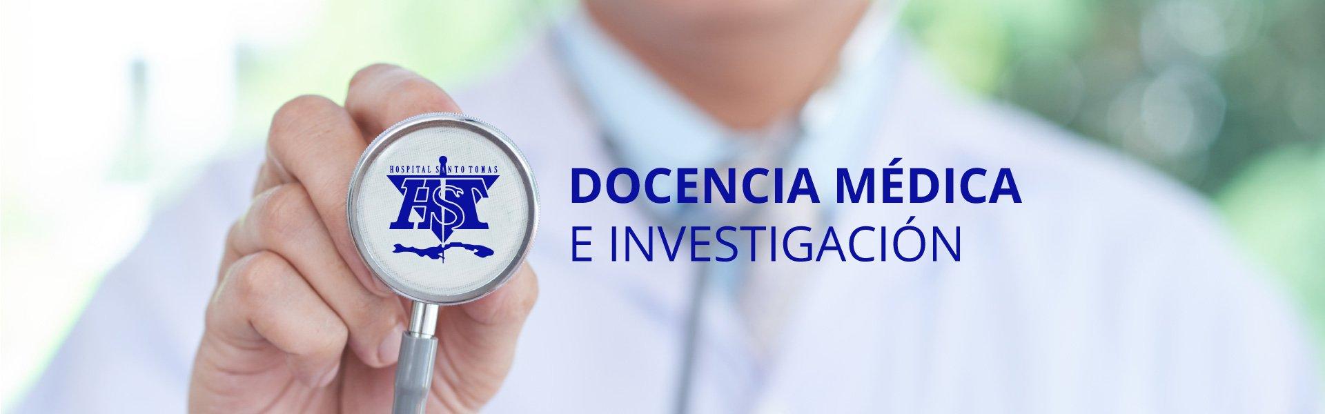 Docencia médica e investigación 2020